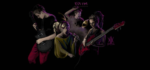 Fly FM - Ultimatum pose by Cedarbird