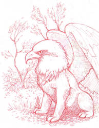 Griffin by Cedarbird