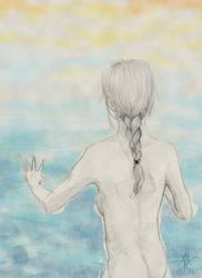 Towards the water by Cedarbird