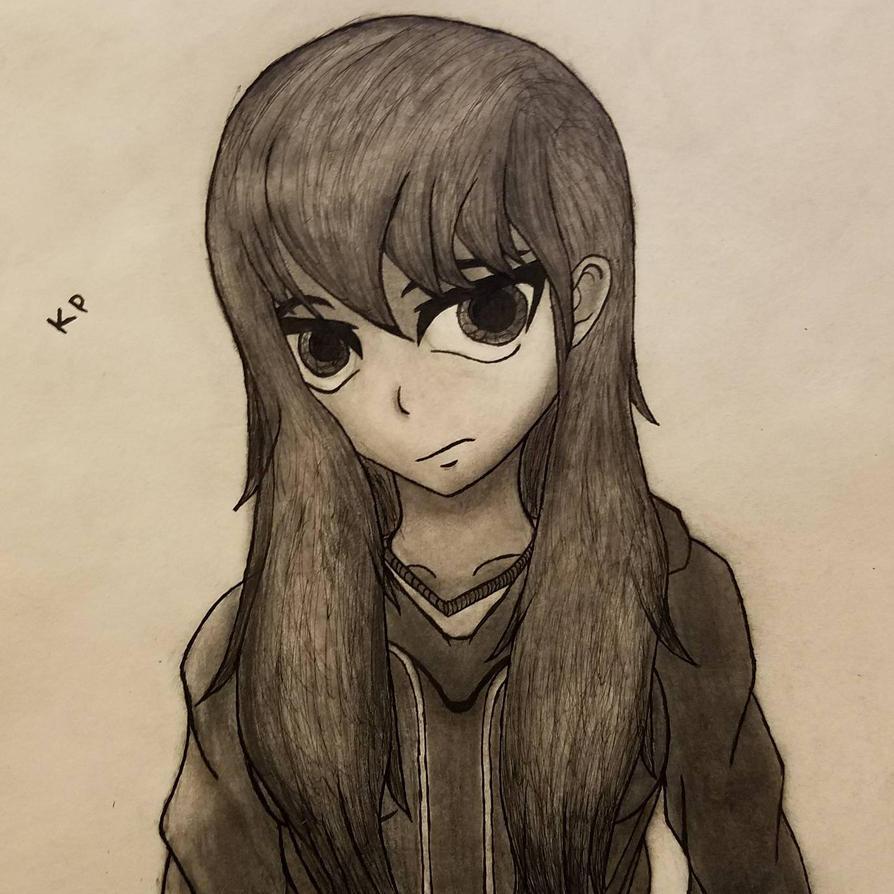 Anime Girl In Hoodie: Anime Hoodie Girl By KellarusPrime On DeviantArt