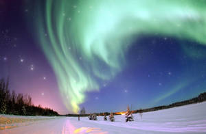 Northern Lights stock by MataHari22