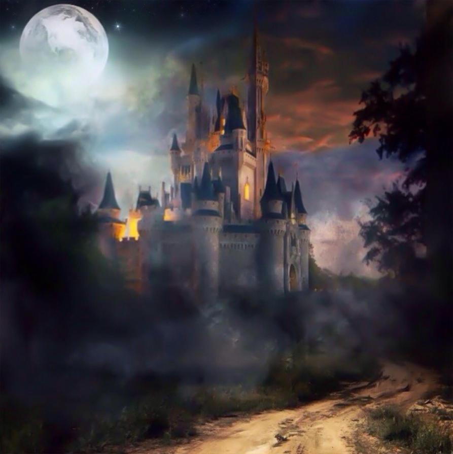 Dark And Spooky Castle By Matahari22 On Deviantart