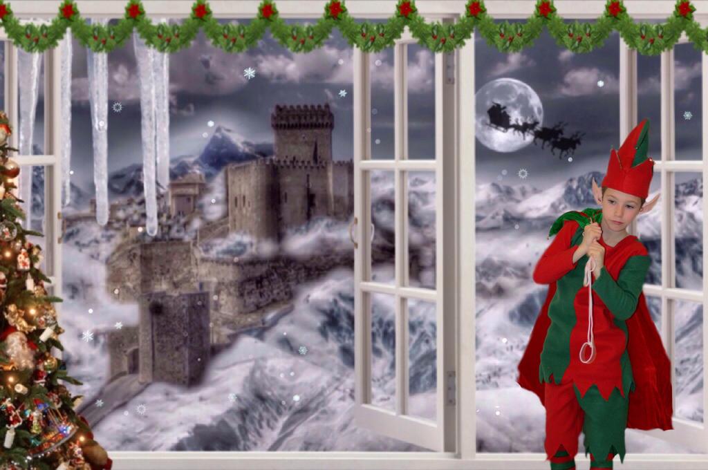 Wish I Could Ride With Santa by MataHari22