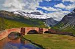 Premade Mountain Pass Bridge