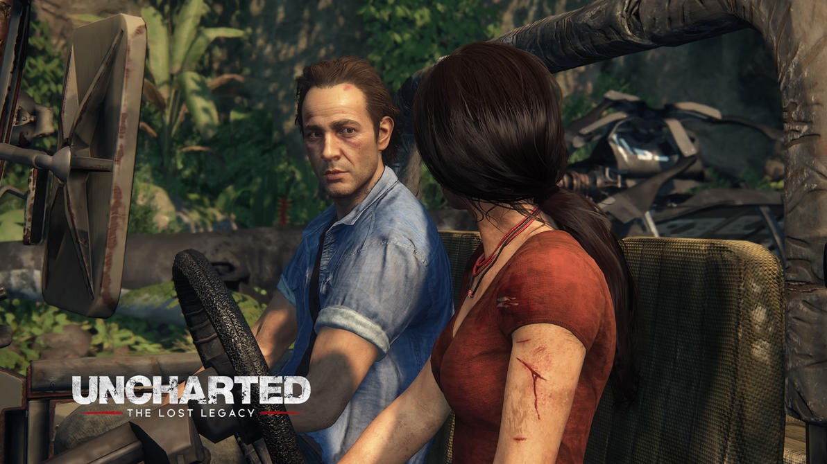 Uncharted Lost Legacy Wallpaper: Uncharted The Lost Legacy Sam And Chloe By Wheres-Wesker