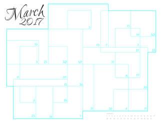 March Sketch a Day - 2017 by darthneko