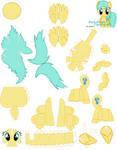 Raindrops Papercraft