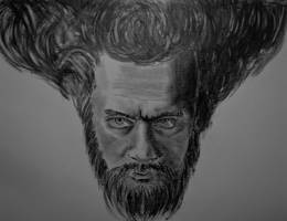 Self-portrait by TazPoltorak