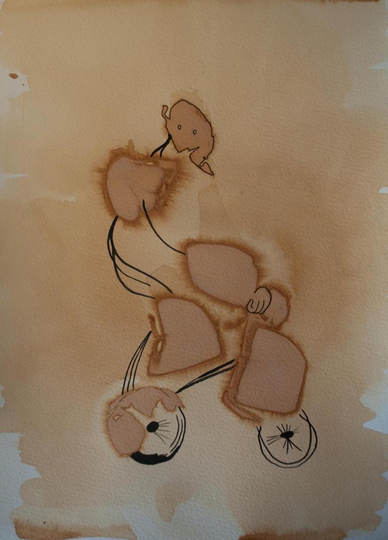 Cyclist by TazPoltorak