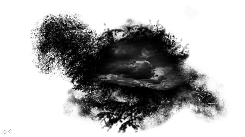 Dark-bird by TazPoltorak