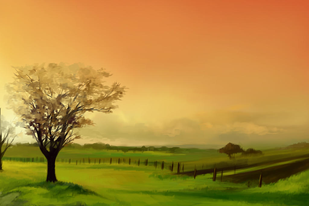Landscape Study 1 by Nidhogge