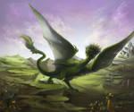Dragon's arrival