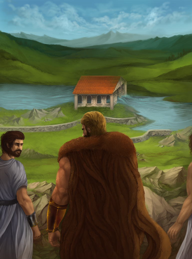 Hercules' Labor 5 - The Augean Stables by Nidhogge