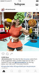 Ordinary Girls: Instagram 017 - #kale #cosplay by RobClassact