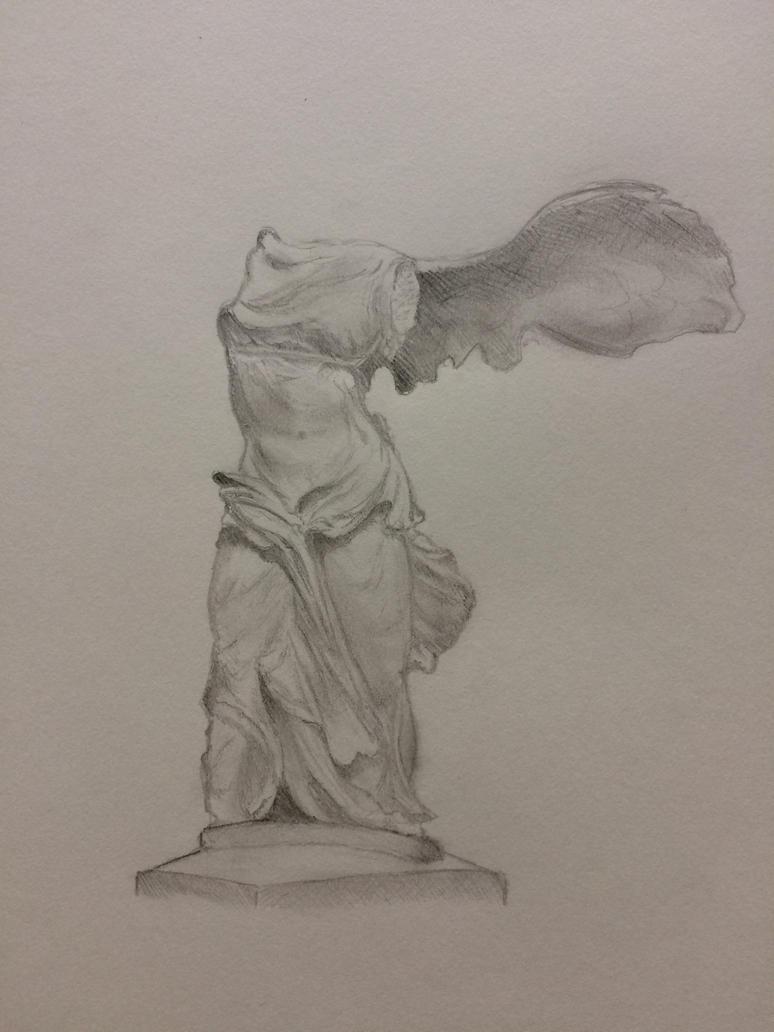 Winged Victory Of Samothrace by NickJ2598