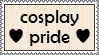 Cosplay Pride Stamp by Tinkalila