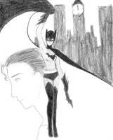 Batman-Err woman by Misaki-Kaito