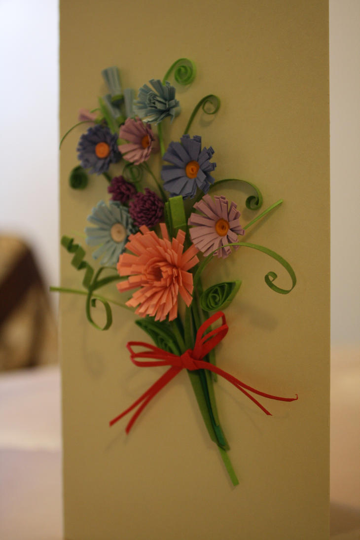 Paper quilling by lica4ever on deviantart - Paper quilling art wallpapers ...
