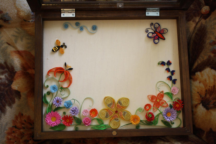 Paper quilling collage by lica4ever on deviantart - Paper quilling art wallpapers ...