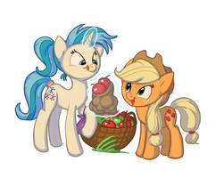 commission: buying apples by Siansaar