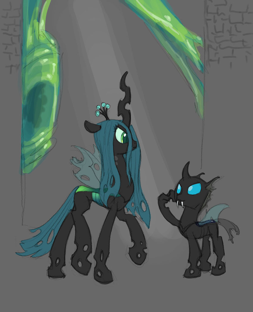 Changeling concept: The Chrysalis Hive