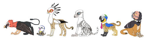 Griffin Concepts by Siansaar