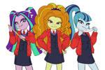 Dazzling Schoolgirls