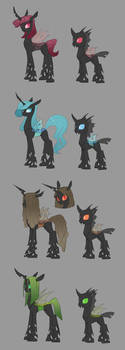 Changeling Concept: Next Gen Hives by Siansaar