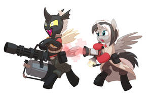 Commission: Teamplay by Siansaar