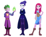 Commission: The Journey - Character Set 1