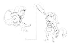 More Velvet doodles