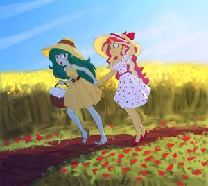 Com.: SunFlower Summer Date