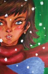 christmas card oo1 by malloreigh