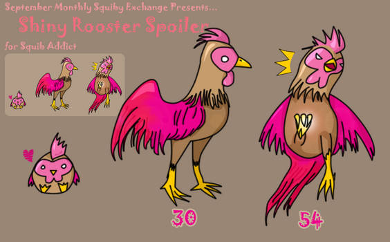 Squiby - Shiny Rooster