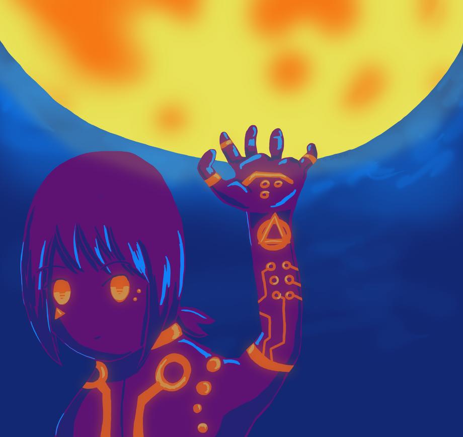 Light up the Moon by Technikos43