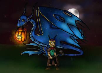 InfinityGalaxyy's Dreadfall Harvest Haunt by Aelyras