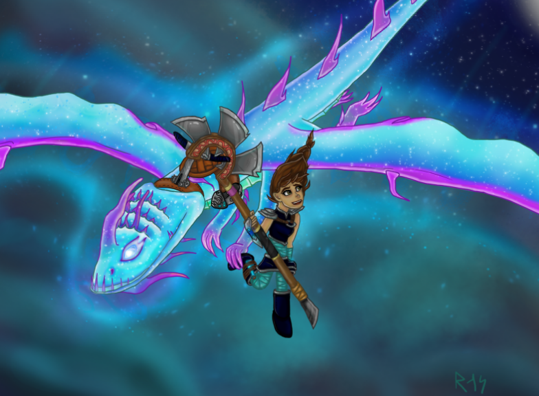 Flying together by Aelyras