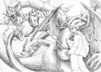 Lance the Dragon Master by kimmchi