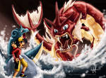 Confronting the Red Gyarados