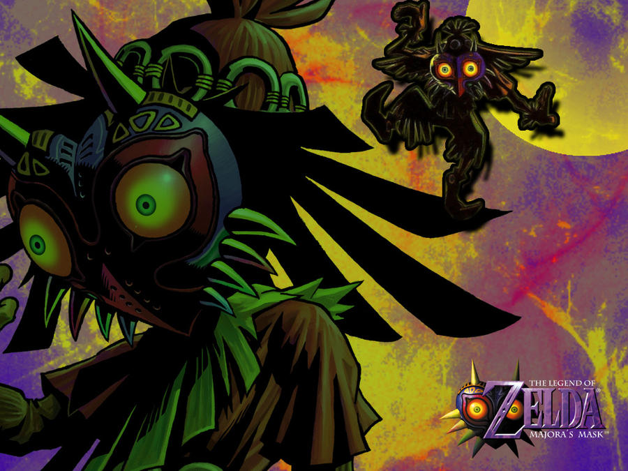 Skull Kid Wallpaper: Skull Kid By Lonelywerewolf14 On DeviantArt