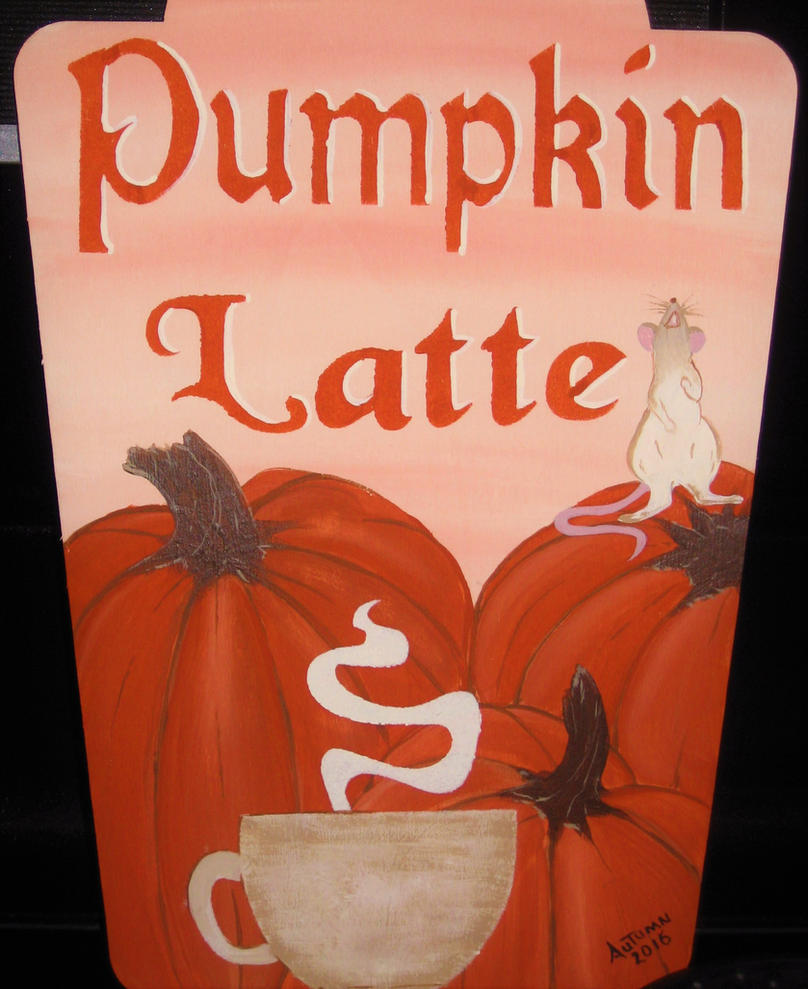 Pumpkin Latte by autumn2371