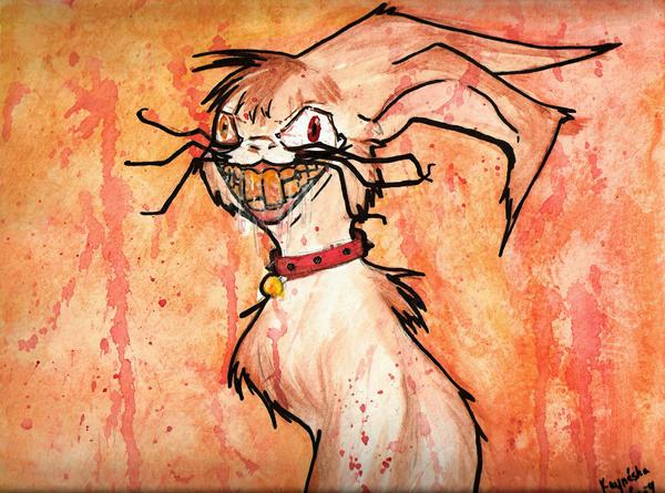Evil Demon Bunny by MrTiddleywinks