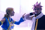 Natsu and Lucy-Fairy Tail