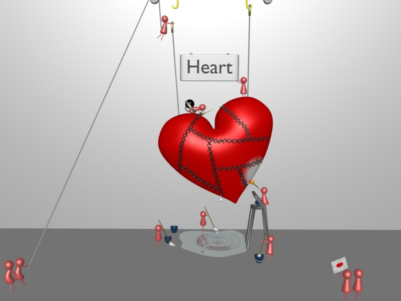 Image Of Fixing Broken Heart
