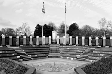 WWII Memorial, Annapolis BW