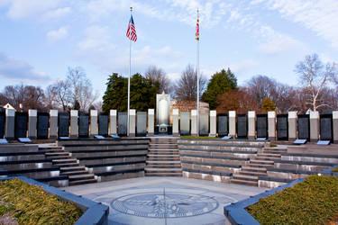 WWII Memorial, Annapolis Color