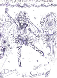 :HBD Linda T:Dance of the Sunflower by DuCKiii3