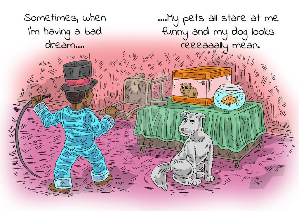 Bad Dreams 17 by WaylonWesley