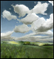 under the cloud by alfinkahar