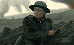 war_speedpainting by alfinkahar